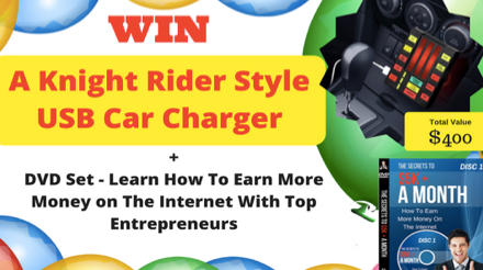 Win A Knight Rider USB Car Charger