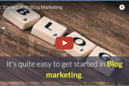 Get started with Blog Marketing