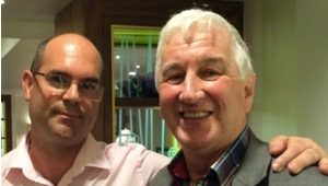 Nick James with George McGillivray