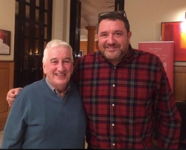 John Thornhill with George McGillivray