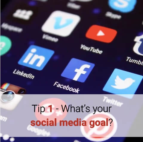 social media goal image